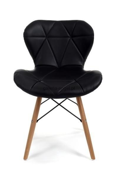 Bardzo dobra Krzesło tapicerowane styl skandynawski kuchenne do salonu pokoju IV14